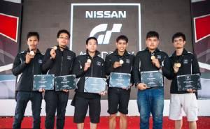 """เปิดตัว 6 เกมเมอร์ไทยสานฝันสู่นักแข่งรถมืออาชีพในโครงการ """"นิสสันจีทีอคาเดมีซีซัน2"""""""