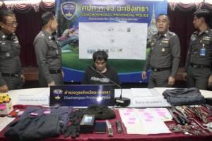 ตำรวจแปลงยาวโชว์ฝีมือล่าโจรปล้นสวาท ก่อคดีโชกโชนกว่า 50 คดี (ชมคลิป)