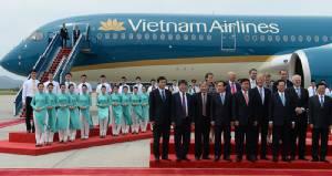 งามตระการตา เครื่องบินใหม่ชุดใหม่ สีใหม่ ธีมใหม่ เวียดนามแอร์ไลน์สทะยานสู่สายการบิน 4 ดาวในปีนี้
