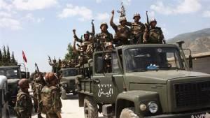"""ทัพซีเรีย-กลุ่มฮิซบอลเลาะห์เปิดศึกใหญ่ชิง """"เมืองชายแดนติดเลบานอน"""" จากกลุ่มกบฏ"""
