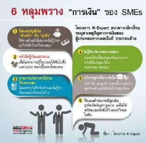 """6 หลุมพราง """"การเงิน"""" ของ SMEs"""