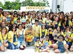 กระแสมินเนี่ยนฟีเว่อร์มาแรง พร้อมป่วนเมืองรุกตลาดทั่วประเทศ สร้างปรากฎการณ์ใหม่ให้กับภาพยนตร์อนิเมชั่นในไทย