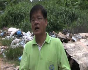ชาวเกวียนหัก ร้องลักลอบทิ้งขยะริมถนนสร้างความเดือดร้อนมาแรมปี