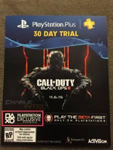"""เบต้ามัลติเพลเยอร์ """"Black Op3"""" เอกซคลูซีฟ PS4 ระหว่าง 19-23 ส.ค."""