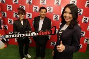 """""""อาร์เอส"""" ทุ่ม 50 ล้านบาทเพิ่มดีกรี """"ช่อง 2"""" ปั้นเป็น """"สถานีข่าวลึก บันเทิงร้อน"""" แห่งแรกในไทย"""