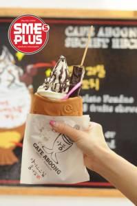 """""""Café Aboong"""" ไอศกรีมปลาอ้าปาก  ฮิตจากเกาหลีถึงไทย"""