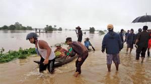 พม่าท่วมเละอีกรอบคนตาย 4 ฝนตกหนักมาก เริ่มระบายน้ำเขื่อนชลประทานทั่วประเทศ