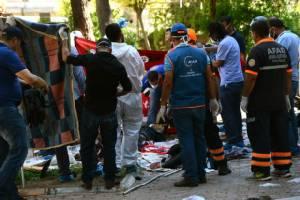 นายกฯ ตุรกีชี้เหตุบึ้มเมืองชายแดนติดซีเรีย ฝีมือ IS ยอดตายพุ่ง 31 ศพ (ชมคลิป)
