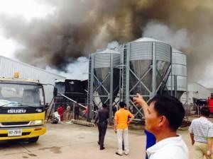 ระทึก! ไฟไหม้ฟาร์มไก่ชื่อดังขอนแก่น คลอกไก่เฉียด 6 หมื่นตัว เสียหายร่วม 40 ล้าน