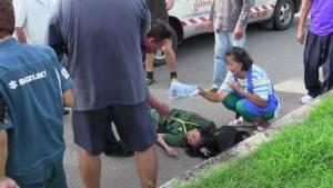 วงจรปิดจับภาพชัดรถยนต์ชน นร.หญิงตราดบนทางม้าลาย แม่เด็กกลับโดนข้อหาประมาทร่วม