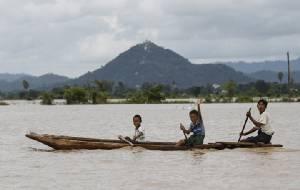ไทยจะรอดไหม? ชมภาพชุดใหญ่น้ำท่วมใหญ่ในพม่า-ลาว