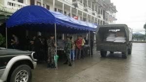 เชียงราย-ตากระดมรับบริจาคสิ่งของช่วยผู้ประสบอุทกภัยที่พม่า