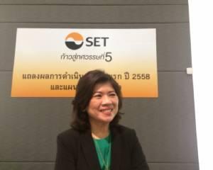 ผู้จัดการ ตลท. ชี้ผลประกอบการ บจ.ไทยครึ่งปีแรกดีที่สุดในอาเซียน