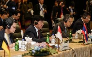 รัฐมนตรีต่างประเทศอาเซียนสรุปร่างคำแถลงไม่ลง กรณีทะเลจีนใต้ขวางคออีกครั้ง