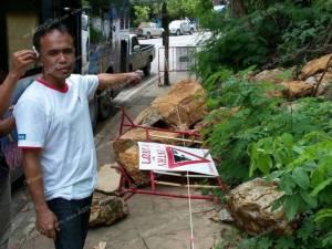 ทหารช่วยชาวบ้าน น้องหมารอดจมน้ำ กระบี่เตือนระวังอันตรายหินสไลด์จากภูเขา
