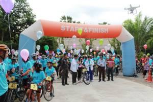 """ราชบุรีเปิดเส้นทางปั่นจักรยาน """"สายสวนผึ้ง"""" รองรับคนรักสุขภาพ"""