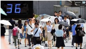 ญี่ปุ่นร้อนยาวนานทุบสถิติ สังเวยชีวิตแล้ว 32 รายในสัปดาห์เดียว