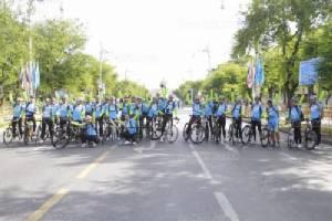 """ทีมแพทย์กว่า 200 ทีม เข้าประจำจุดแล้ว พร้อมดูแลคนร่วม """"Bike For Mom"""""""