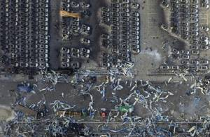 """เหตุระเบิดที่เมืองท่าเทียนจิน ดั่ง """"สงครามอาวุธเคมีที่ไร้คำประกาศศึก""""  (ชมภาพ)"""