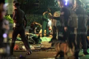 กทม.เผย CCTV จับภาพพบกลุ่มชายต้องสงสัย 3 - 4 คน ขนของมาที่จุดระเบิด  สั่งปิดโรงเรียน 438 แห่งในสังกัดหนึ่งวัน