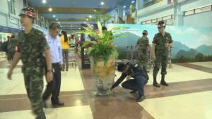 แกนนำ 3 องค์กรเอกชน ชร.ประฌามผู้ก่อเหตุระเบิด-ให้กำลังใจเจ้าหน้าที่
