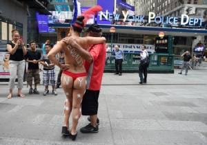Women to parade topless through New York on Sunday