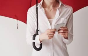 กำเนิดร่มพันธุ์ใหม่ ผู้ใช้พิมพ์ข้อความกลางสายฝนได้