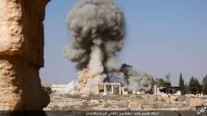 In Pics :  IS เผยแพร่ภาพปวดร้าว ฉากทำลายล้างซากวิหารเมืองมรดกโลกของซีเรีย