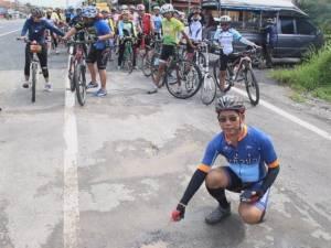 ชมรมปั่นจักรยานระบุถนนจักรยานสายแรกที่พังงายังไร้มาตรฐาน