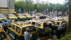 """""""แท็กซี่เอื้ออาทร"""" ขึ้นศาลแพ่งไกล่เกลี่ยคดีฟ้องแบงก์เอสเอ็มอี ผิดสัญญาส่งมอบรถ"""