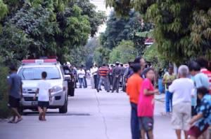 ค้นบ้านเช่าชาวต่างชาติพบสารตั้งต้นวัตถุระเบิด