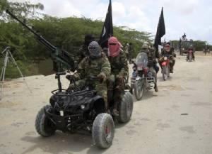 """กลุ่มติดอาวุธ """"อัล ชาบาบ"""" เหิมเกริมหนัก   บุกยึด 2 เมืองทางใต้ของโซมาเลียในเวลาเพียง 2 วัน"""