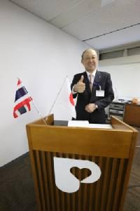 """""""พีเจ้น"""" นำสื่อมวลชนบินลัดฟ้าเยี่ยมชมศูนย์วิจัยญี่ปุ่น อันดับ 1 ในเอเชีย"""