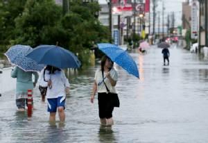Typhoon Etau barrelling toward Japanese mainland