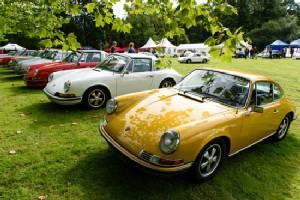 Porsche Classics at the Castle