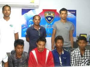 รวบ 5 หนุ่มพม่าถูกแก๊งค้ามนุษย์หลอกไปขายแรงงานมาเลย์ แต่ช่วงข้ามแดนไม่มาตามนัด (ชมคลิป)