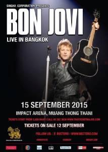 """ลัดฟ้าลัดคิว""""บอง โจวี""""ขอเยือนไทยเปิดคอนเสิร์ตใหญ่ 15 ก.ย.นี้!"""
