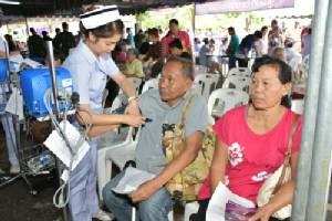 จัดโครงการแพทย์อาสาเฉพาะทางฯ กาญจนบุรี ตั้ง รพ.สนาม 18 คลินิก รักษาฟรี