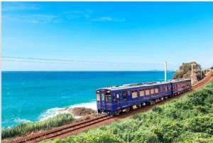 รถไฟ JR คิวชูเตรียมเปลี่ยนเส้นทางใหม่ ให้ผู้โดยสารชมอาทิตย์อัสดง