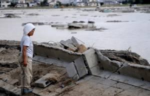 น้ำท่วมใหญ่ญี่ปุ่น ทำให้เมืองโจโซกลายเป็นเมืองบาดาล