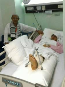 พบอีกราย! หญิงชาวนราฯ บาดเจ็บขาซ้ายหักหลังเหตุเครนล้มทับมัสยิดเมืองมักกะห์
