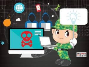 """กองทัพเร่งฝึก """"นักรบไซเบอร์"""" รับมือแฮกเกอร์ทั่วโลกโจมตีประเทศไทย"""