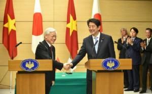 เวียดนามกระชับสัมพันธ์ญี่ปุ่นเสริมความมั่นคงทางทะเล