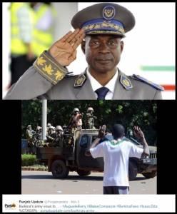 "In Pics : ชาติแอฟริกาตะวันตกเข้าแทรกก่อนกระสุนนัดแรกถูกยิงสำเร็จ!! รัฐประหารบูร์กินาฟาโซ ""ลงนามถอนกำลัง"" คืนอำนาจให้รัฐบาลพลเรือน"