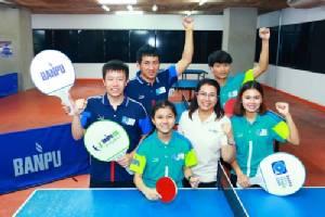 """บ้านปูฯ เดินหน้าบ่มเพาะเยาวชน """"เก่ง-ดี""""  ส่ง 4 นักกีฬาเทเบิลเทนนิสลุยระดับโลก"""