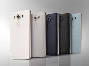 LG คลอด V10 สมาร์ทโฟน 2 จอ พร้อมนาฬิกา Android Wear รุ่นใหม่รองรับ 4G