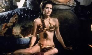 """แฟน Star Wars ทุ่ม 3 ล้านบาทสอยบิกินีในตำนานของ """"เจ้าหญิงเลอา"""""""