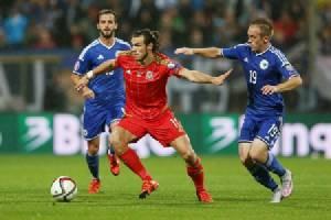 """57 ปีที่รอคอย """"เวลส์"""" แพ้บอสเนีย 0-2 แต่ลิ่วยูโร"""