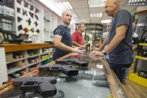 Israelis invest in firepower as knife attacks rise