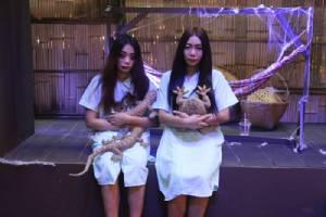 """หลอนขนหัวลุก หวีดสุดฮา ในงาน """"ปาร์ตี้ผีไทย"""""""